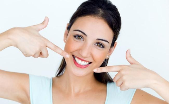 Результат отбеливания зубов